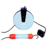 Central Tools 12010 13 Watt Fluorescent Work Bounce Lite - 40Ft. Reel