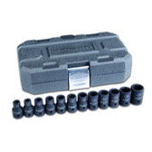 "Gearwrench 84930N 12 Pc. 1/2"" Drive 6 Point Metric Impact Socket Set"