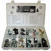 The Main Resource DP600 Drain Plug And Gasket Assortment, 114 Pieces