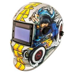 Titan Tools 41290 Solar Powered Auto Dark Welding Helmet - Gear Head
