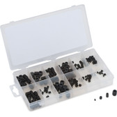 Titan Tools 45251 160 Piece Metric Socket Head Set Screw Assortment