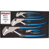 Channellock PC-3 4 Piece Pro's Choice Tongue and Groove Pliers Set