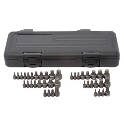 Gearwrench 81602 41 Piece Master Ratcheting Wrench Insert Bit Set