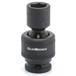 "Gearwrench 84364N 3/8"" Drive 6 Point 18mm Universal Impact Socket"