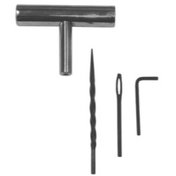 The Main Resource TI48-2 Metal T-Handle 4 Piece Tool Kit (2 Pack)