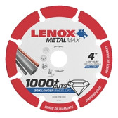 "Lenox 1972920 LENOX Diamond Angle Grinder Cutoff Wheel 4"" x 5/8"""