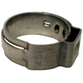 "The Main Resource HC8658-100 5/8"" Open Pinch Clamp (.52"" - 5/8"")"