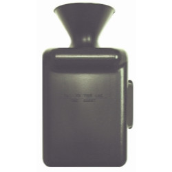 The Main Resource LB66006 Lube Bucket Black in Color (Straight)