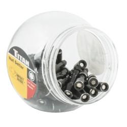 "Titan Tools 16184-50 50 Piece 1/4"" Magnectic Nut Setter Display"