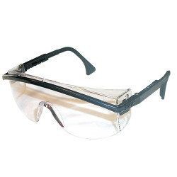 Uvex S1359 Astrospec 3000 Black Safety Glasses with Clear Lens