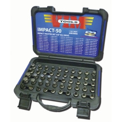 "VIM Tools IMPACT50 50 piece Impact Master Set - 3/8"" Sq. Drive"