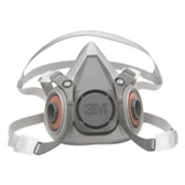 3M 7025 Half Facepiece Reusable Respirator 6200/07025, Medium