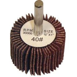 """The Main Resource MI506 Flap Wheel 1.5"""" x 1"""" x 1/4"""" - 40 Grit"""