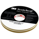 "3M 72403 Scotchcal Striping Tape, Gold Metallic, 1/2"" x 150'"