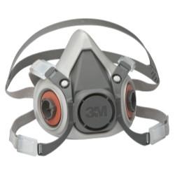 3M 7024 Half Facepiece Reusable Respirator 6100/07024, Small