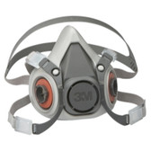 3M 7024 Half Facepiece Reusable Respirator 6100/07024, Small