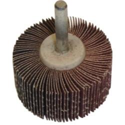 """The Main Resource MI514 Flap Wheel 2"""" x 1"""" x 1/4"""" - 120 Grit"""