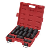 "Sunex Tools 4638 3/4"" Drive 14 Piece Deep Impact Socket Set"