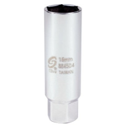 Sunex Tools 884504 3/8 DR. 16mm Thin Wall Spark Plug Socket
