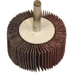 """The Main Resource MI513 Flap Wheel 2"""" x 1"""" x 1/4"""" - 80 Grit"""