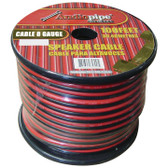 Audiopipe CABLE8100BLK 8 Gauge Speaker Wire 100' Red/Black