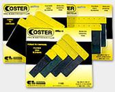 "GL Enterprises 1100-3 Coster Steel Auto Body Spreaders, 3"""