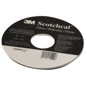 "3M 72009 Scotchcal Striping Tape, Dark Blue 3/16"" x 150'"