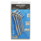 Bondhus 00060 5Pc Hex Pro Pivot Head Inch Hex Wrench Set