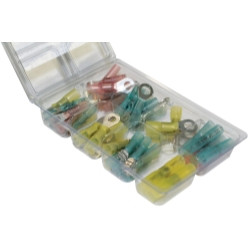 JT&T 6977F 60 Piece Heat Shrink Solder Seal Terminal Kit