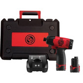 "Chicago Pneumatic 8818K 1/4"" Cordless Impact Driver Kit"
