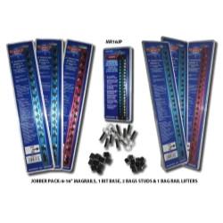 "VIM Tools MR16JP MAGRAIL 16"" Jobber Pack, 10 Piece Set"
