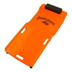 Lisle 93202 Low Profile Plastic Creeper (Neon Orange)