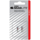 Maglite LM2A001 Mini Mag AA Flashlight Bulbs - 2 Pack