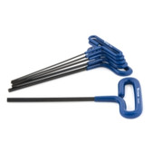 Titan Tools 12769 6 Piece Metric T-Handle Hex Key Set