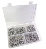ATD Tools 346 Aluminum Blind Rivet Assortment, 500pc