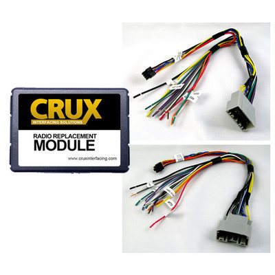 Crux SOOCR26 Chrysler Dodge & Jeep Radio Replacement