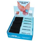 SG Tool Aid 17050 24 Piece Grime Scrub Brush Display