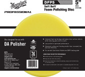 "Meguiars DFP5 5"" Soft Buff DA Foam Polishing Disc"