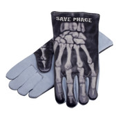 "Save Phace 3012343 ""Bones"" Welding Gloves, Size L"