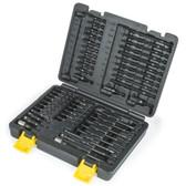 Titan Tools 16251 50 Pc. Torsion Impact Bit Set