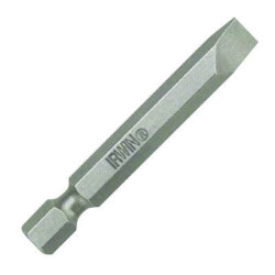 "Irwin 3521091C 6-8 Slotted Power Bit 2"" Length"