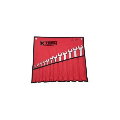 K Tool 41301 12 Piece Combination Wrench Set