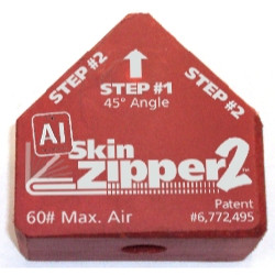 Steck 21897 Al Skin Zipper2 Replacement Head