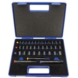 Fowler 72-482-040-0 36 Piece Xtra-Punch Set