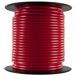 JT&T 82F Primary Wire - 8 AWG, Red 25 Ft.