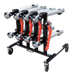 Sunex Tools 7709 Car Dolly Rack (Holds 4)