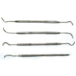 CTA Tools 9920 4 Pc Dental Pick Set