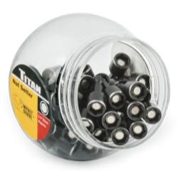 """Titan Tools 16186-50 50 Pc. 3/8"""" Magnetic Nut Setter"""