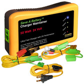 Save A Battery 2365-24 24V 50W Quick Battery Charger and Auto Pulse Maintainer