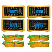 Save A Battery 8250 12V 50W Pulse Battery Charger/Maintainer and Tester (4 Pack)